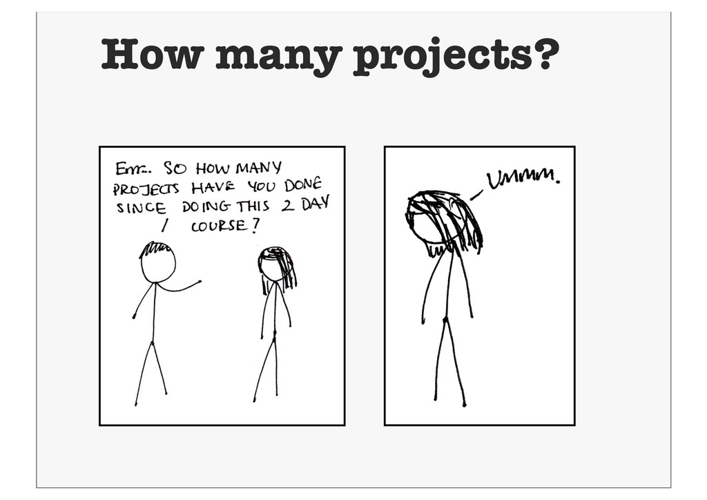 How many projects?
