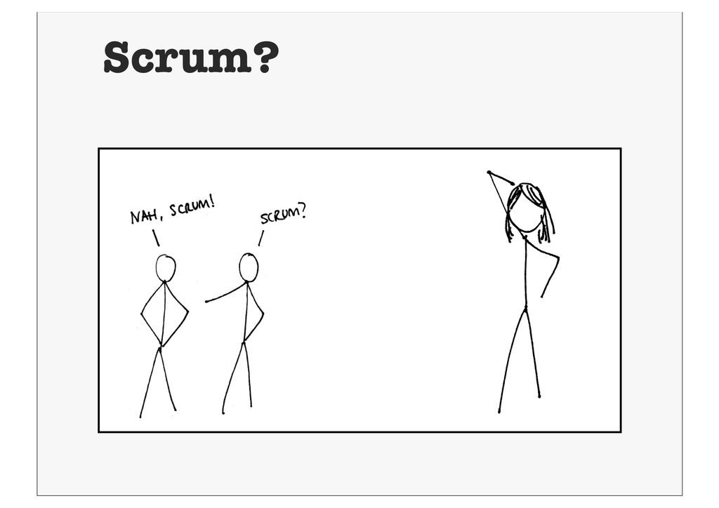 Scrum?