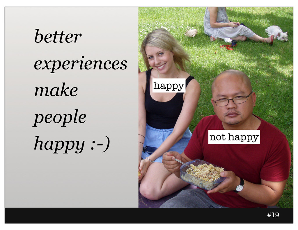 #19 happy not happy better experiences make peo...