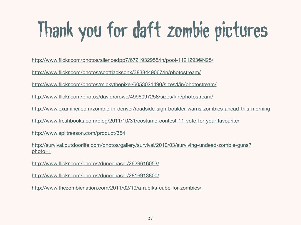 Thank you for daft zombie pictures http://www.fl...