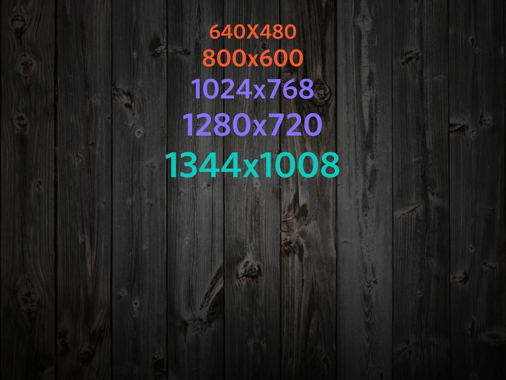 640X480 800x600 1024x768 1280x720 1344x1008