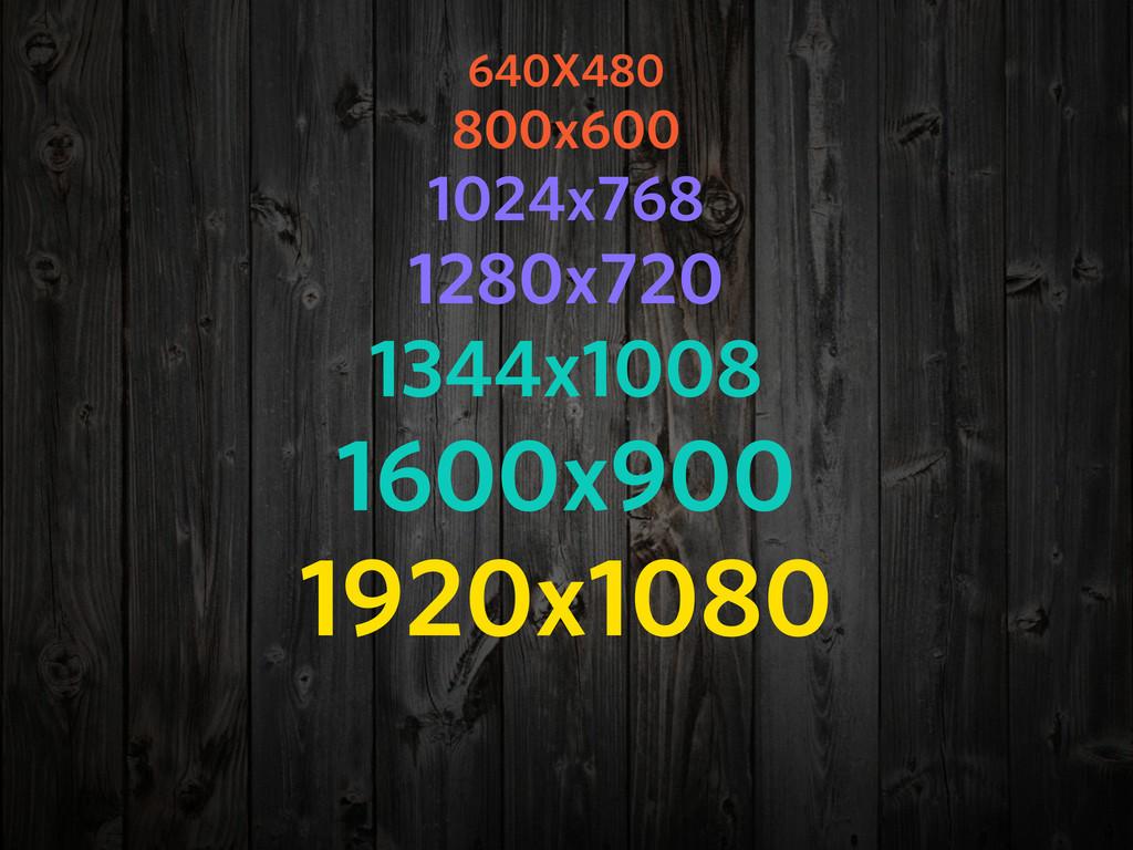 640X480 800x600 1024x768 1280x720 1344x1008 160...
