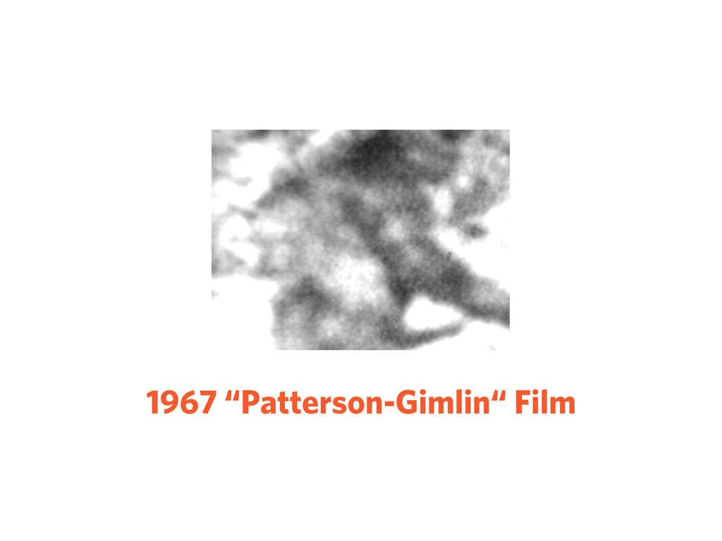 "1967 ""Patterson-Gimlin"" Film"