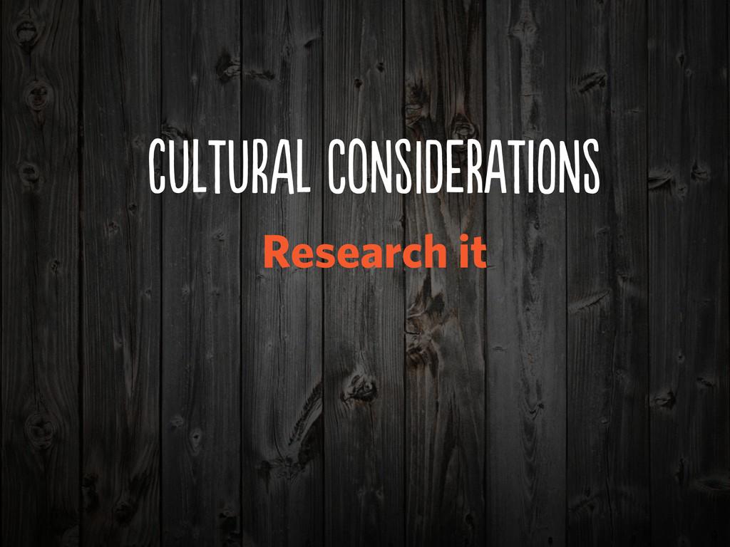 cUUrA CoNDeRIN Research it