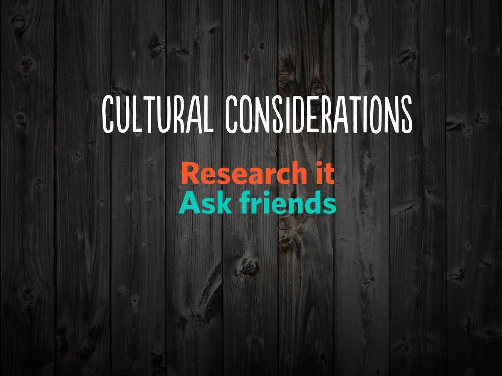 cUUrA CoNDeRIN Research it Ask friends