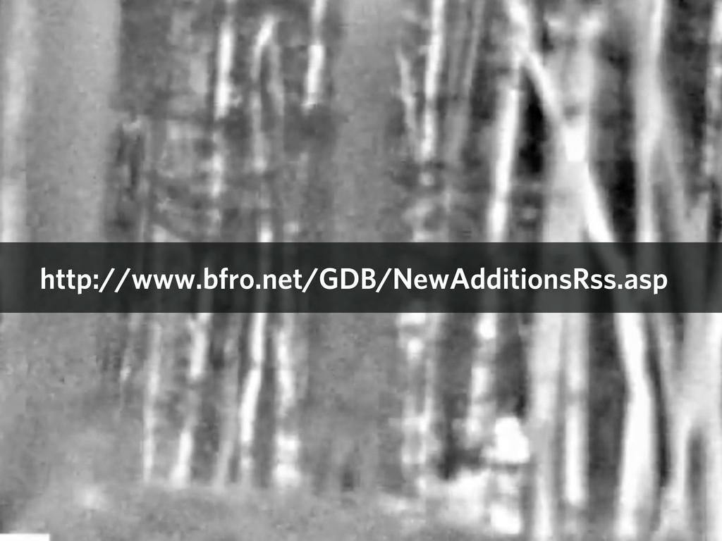 http://www.bfro.net/GDB/NewAdditionsRss.asp