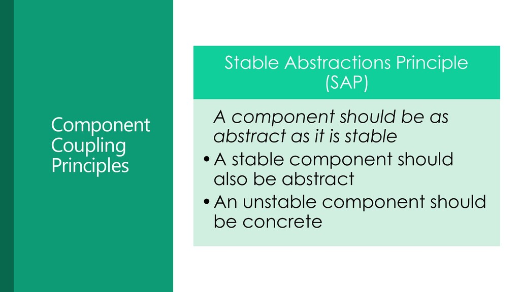 Component Coupling Principles Stable Abstractio...