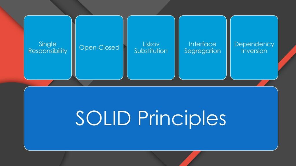 SOLID Principles Single Responsibility Open-Clo...