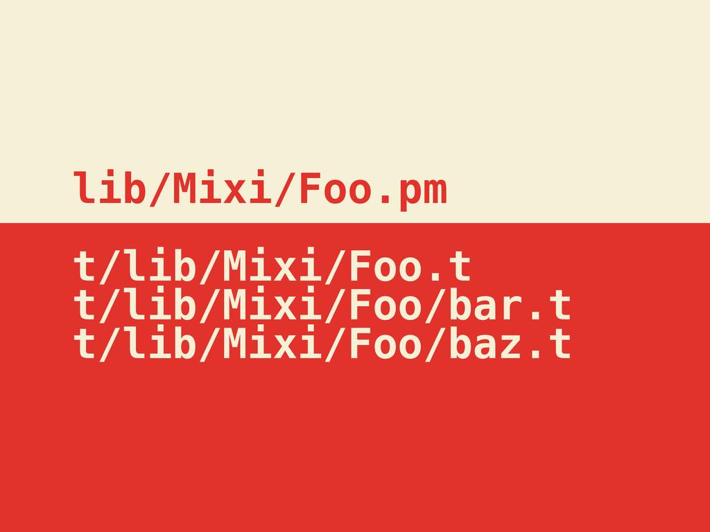 lib/Mixi/Foo.pm t/lib/Mixi/Foo.t t/lib/Mixi/Foo...