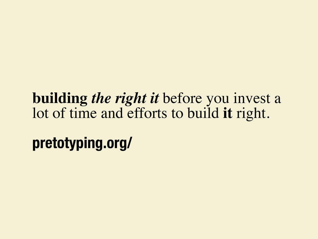 building the right it before you invest a lot o...
