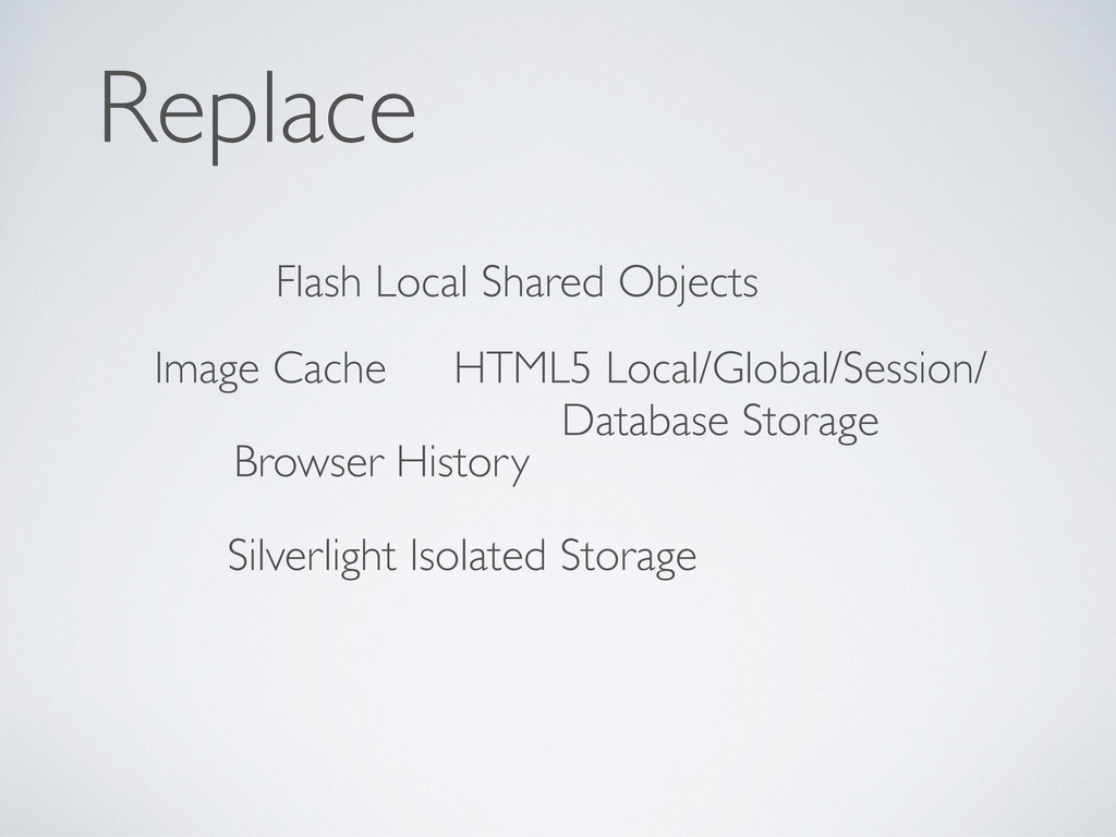 Replace Flash Local Shared Objects Silverlight ...