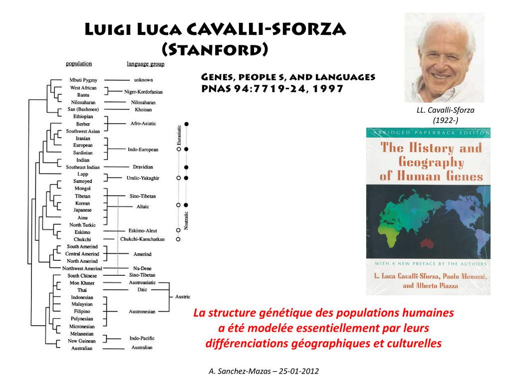 Genes, people s, and languages PNAS 94:7719-24,...