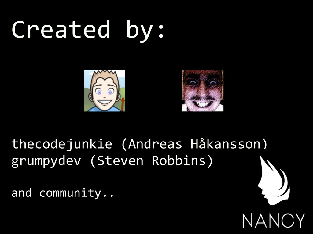 Created by: thecodejunkie (Andreas Håkansson) g...