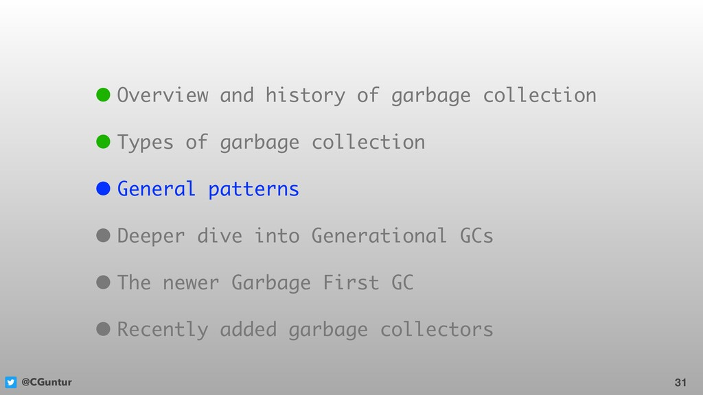 @CGuntur 31 • Overview and history of garbage c...