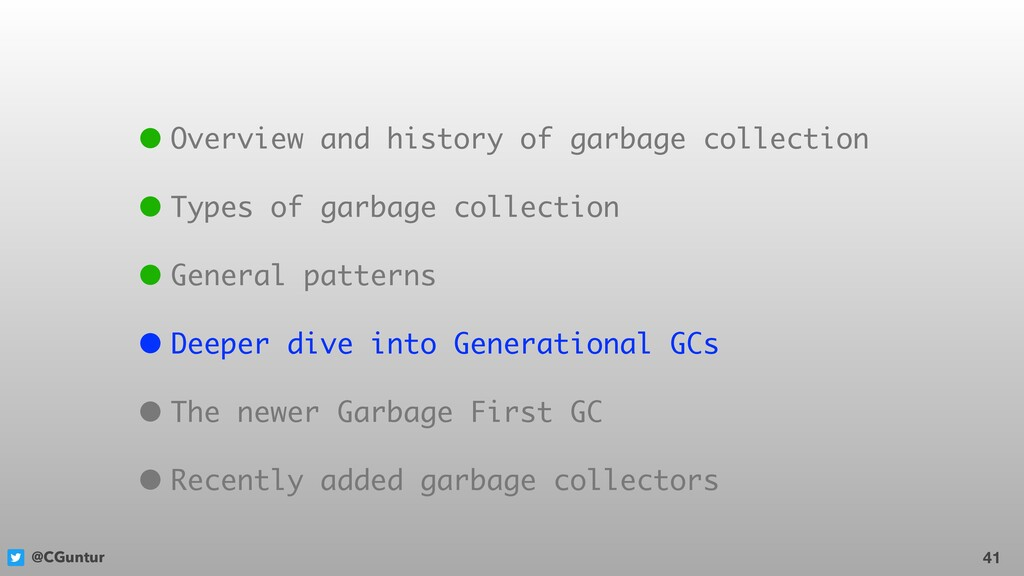 @CGuntur 41 • Overview and history of garbage c...