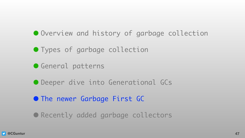 @CGuntur 47 • Overview and history of garbage c...