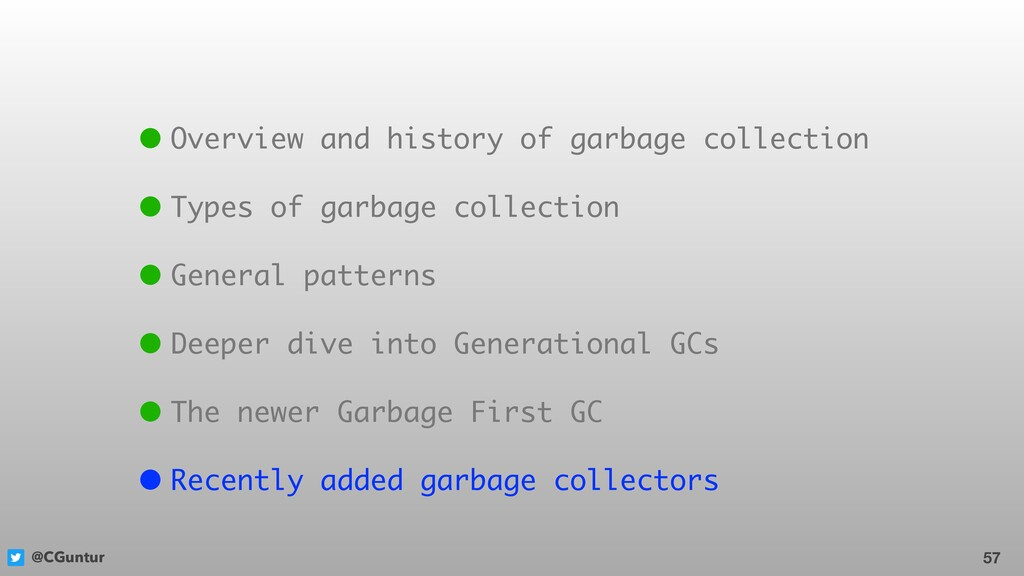 @CGuntur 57 • Overview and history of garbage c...
