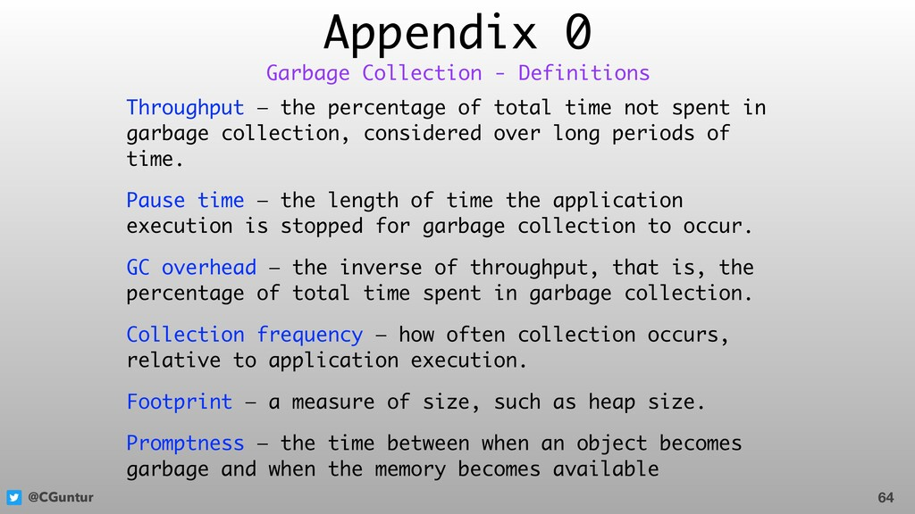 @CGuntur Appendix 0 Throughput — the percentage...