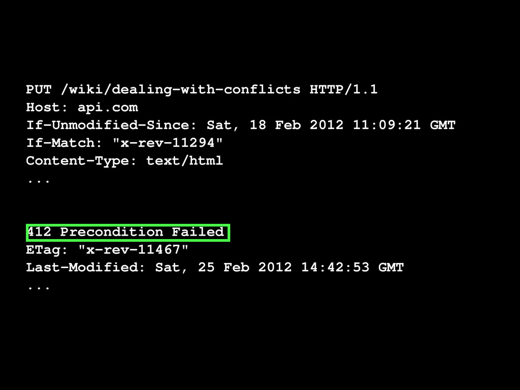 PUT /wiki/dealing-with-conflicts HTTP/1.1 Host:...