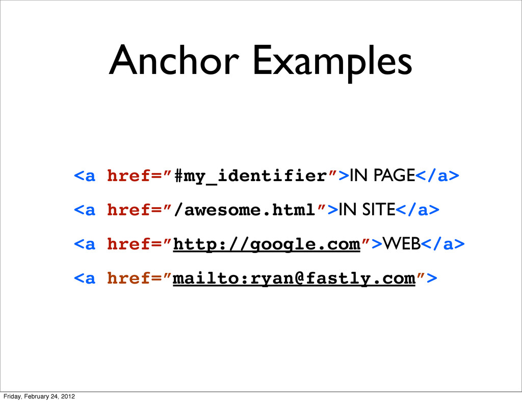 "Anchor Examples <a href=""#my_identifier"">IN PAG..."