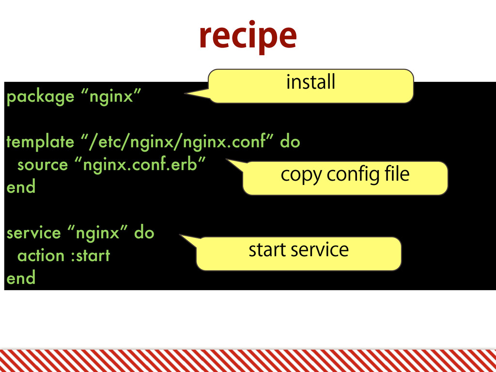 """package """"nginx"""" template """"/etc/nginx/nginx.conf..."""