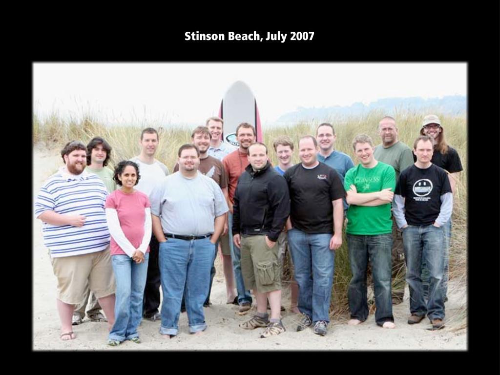 Stinson Beach, July 2007