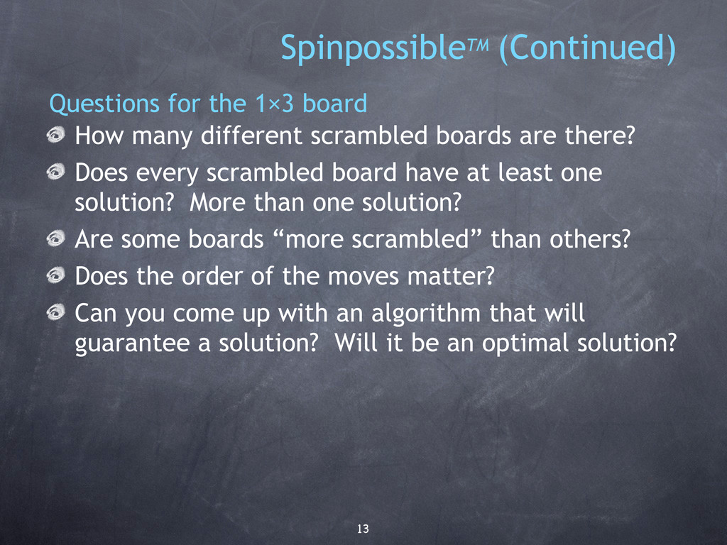 13 How many different scrambled boards are ther...