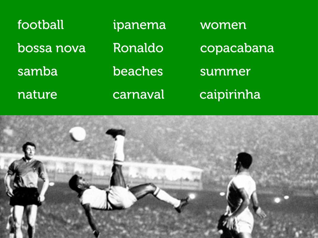 nature Ronaldo beaches ipanema copacabana carna...