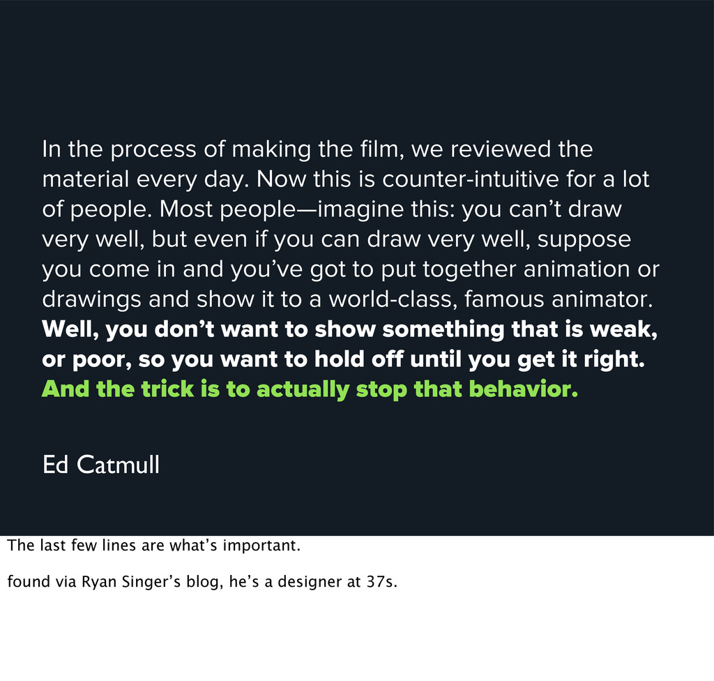 In the process of making the film, we reviewed t...