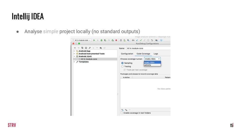 Intellij IDEA !15 ● Analyse simple project loca...