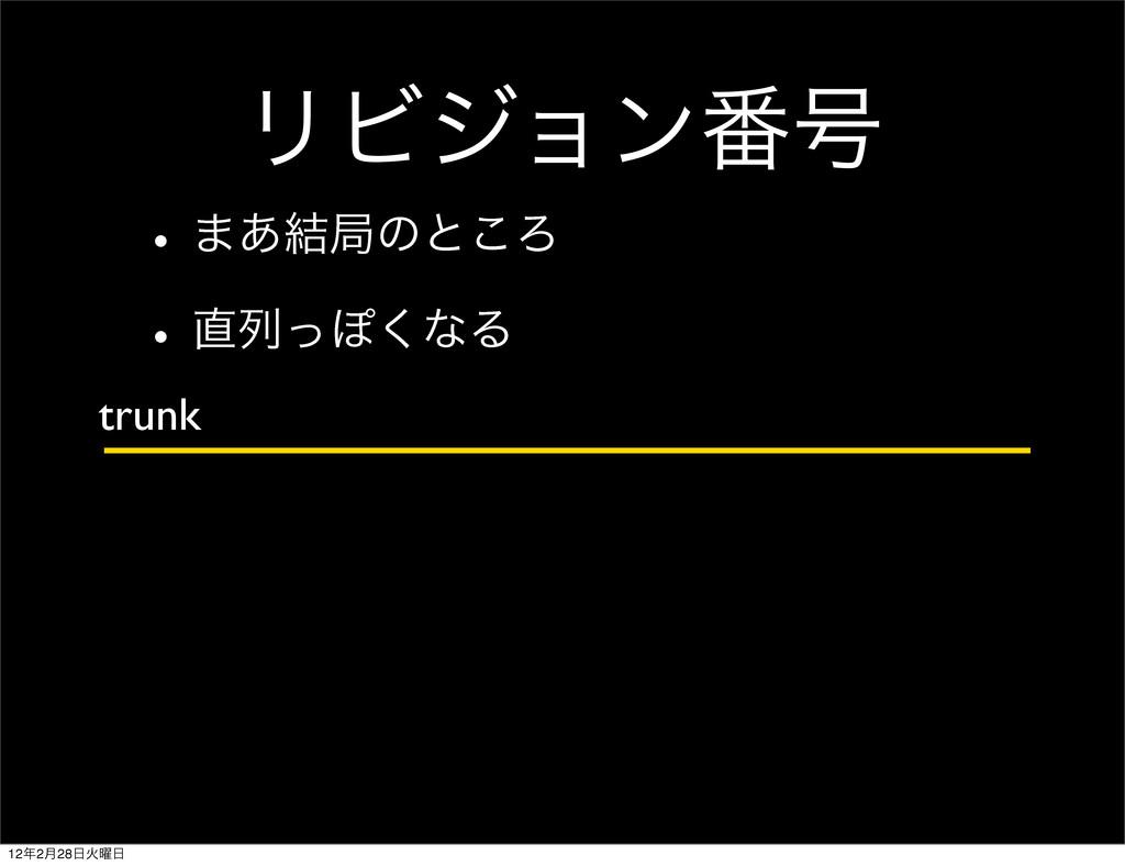 ϦϏδϣϯ൪߸ w·͋݁ہͷͱ͜Ζ wྻͬΆ͘ͳΔ trunk 122݄28Ր༵