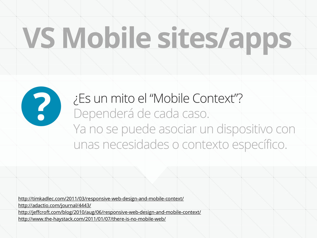 "VS Mobile sites/apps ¿Es un mito el ""Mobile Con..."