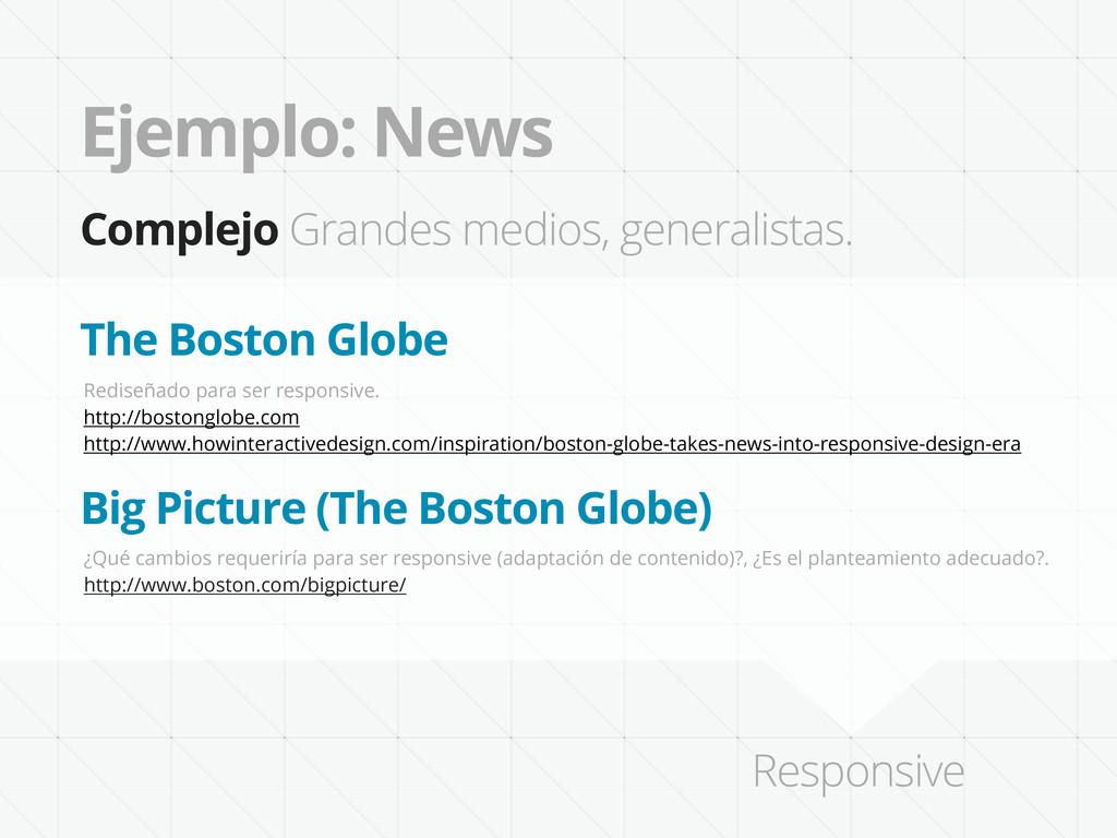 Ejemplo: News Complejo Grandes medios, generali...