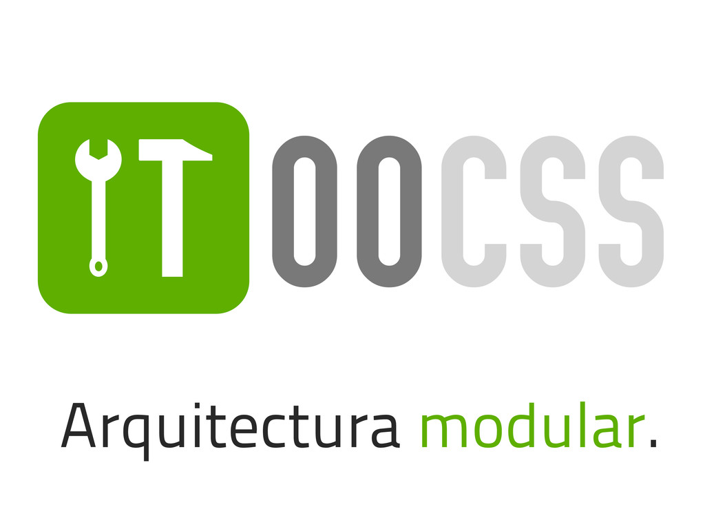 O Arquitectura modular. OOCSS