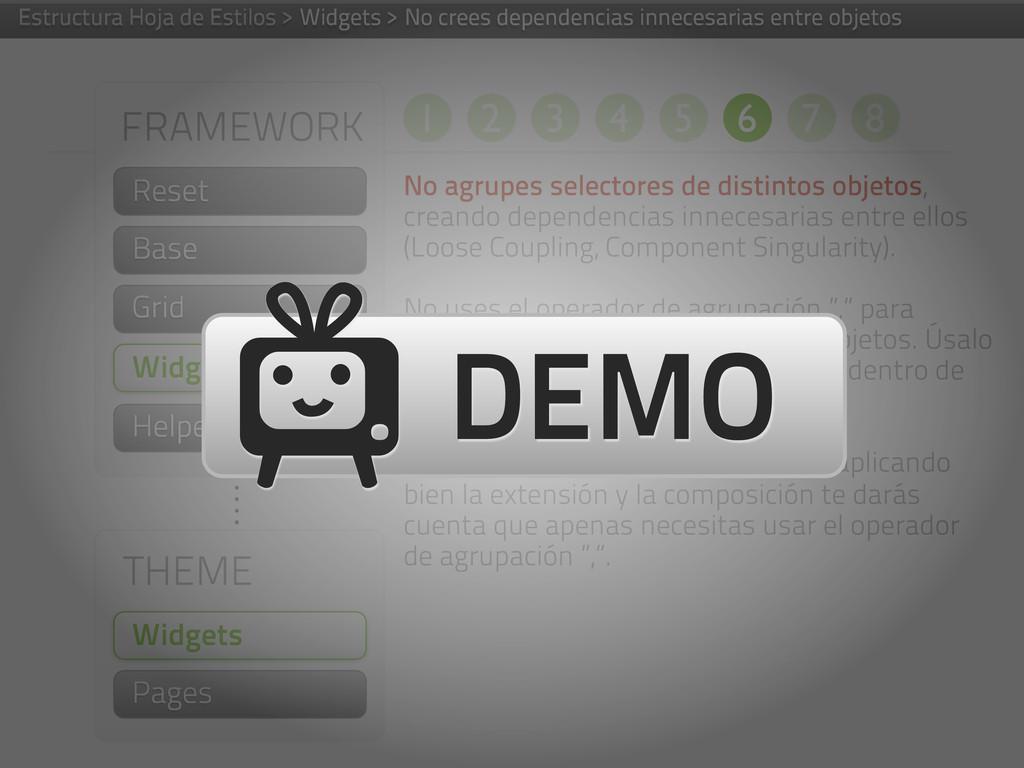 FRAMEWORK Helpers THEME Widgets Pages Widgets N...