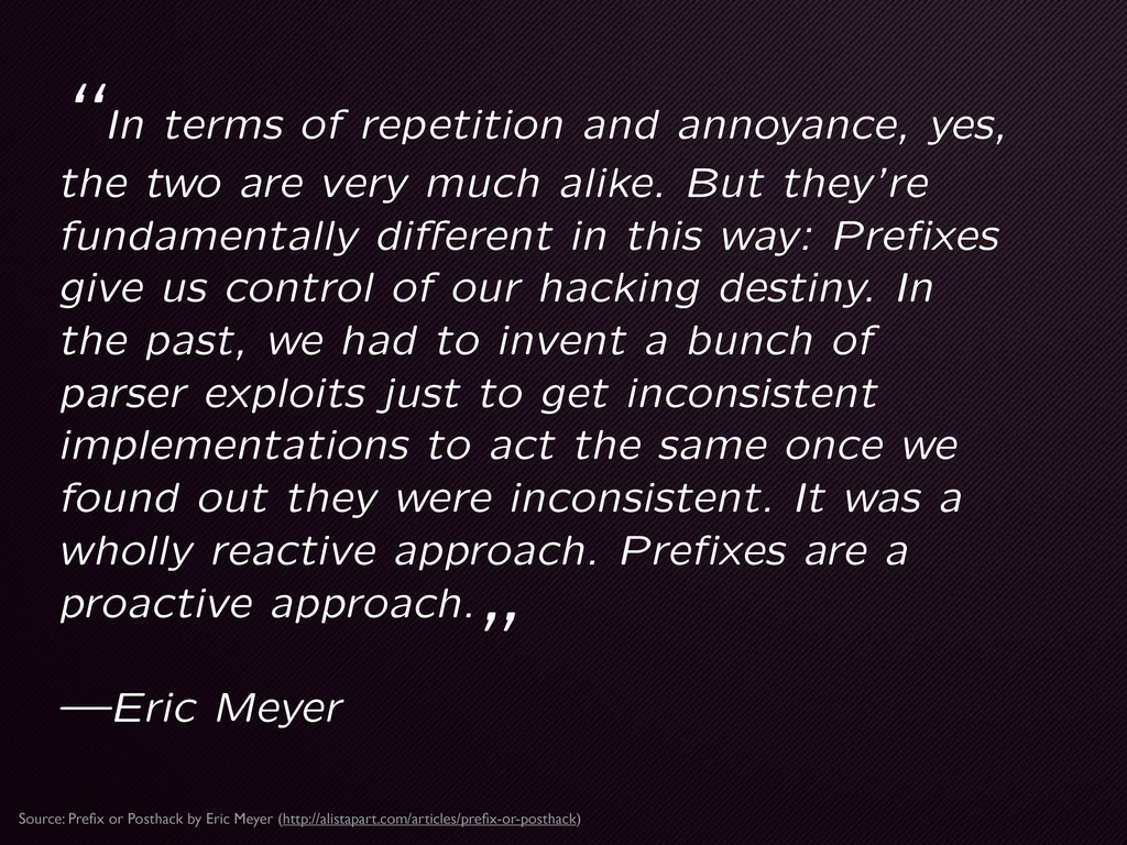 """In terms of repetition and annoyance, yes, the..."