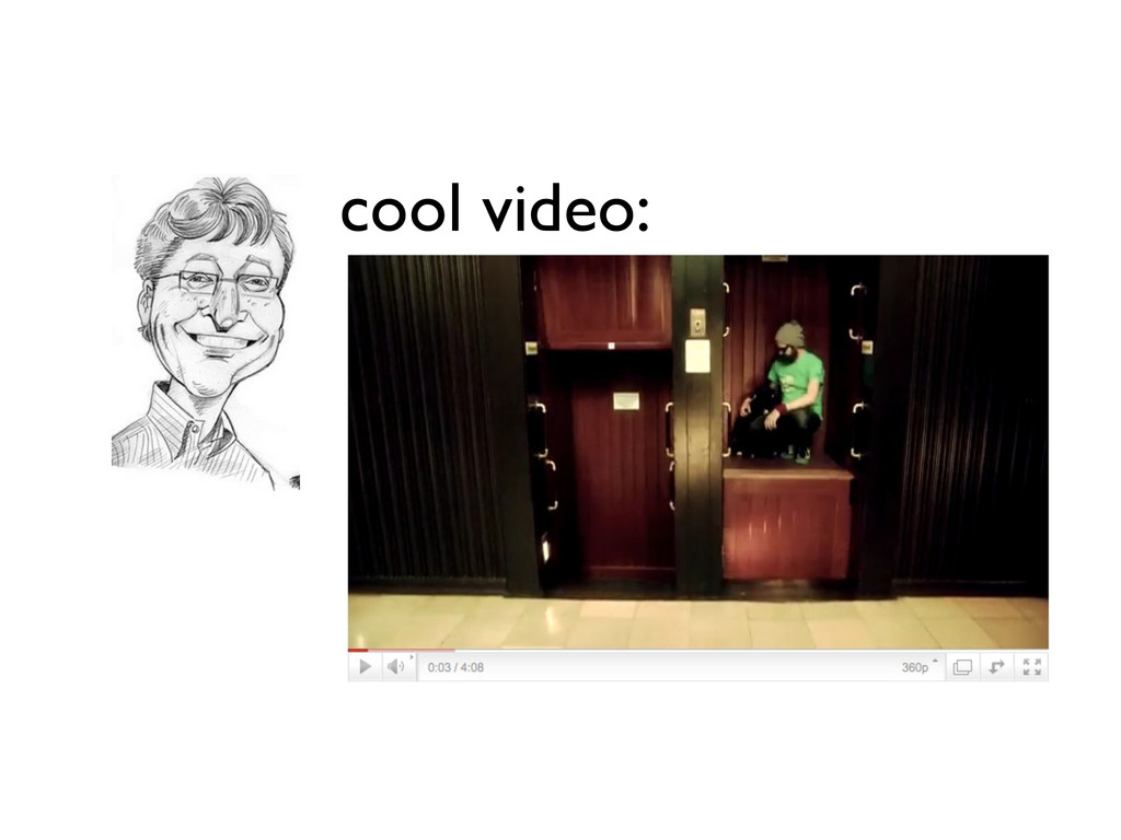 cool video: