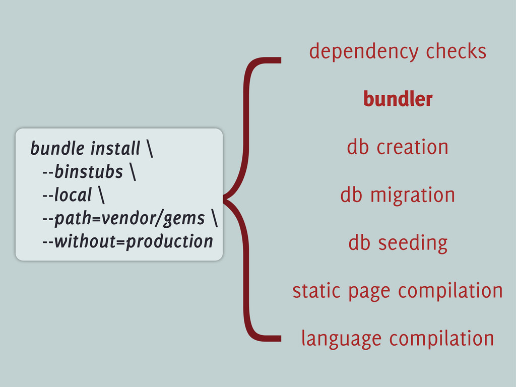 { static page compilation language compilation ...