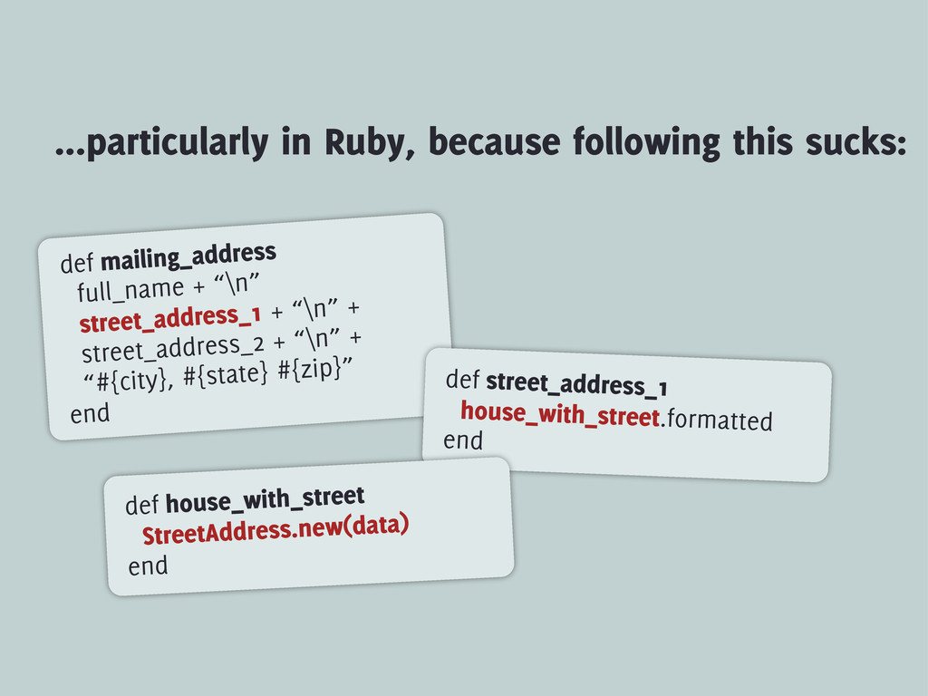 ...particularly in Ruby, because following this...