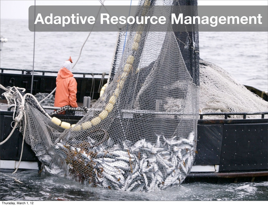 Adaptive Resource Management Thursday, March 1,...
