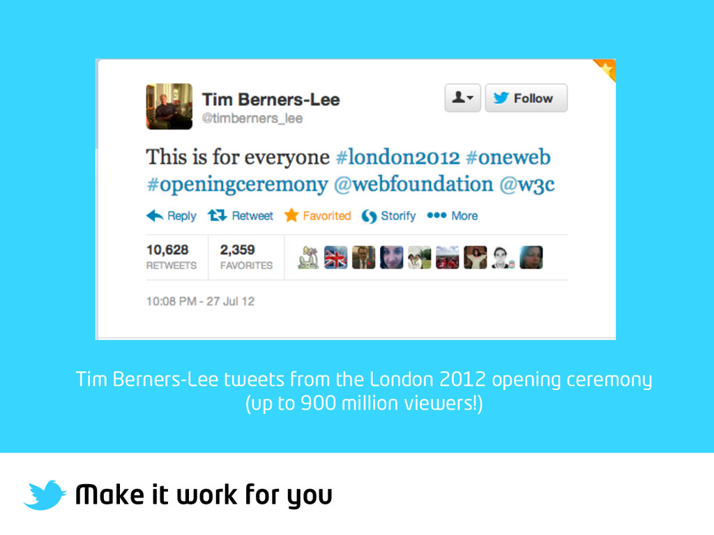 Make it work for you Tim Berners-Lee tweets fro...