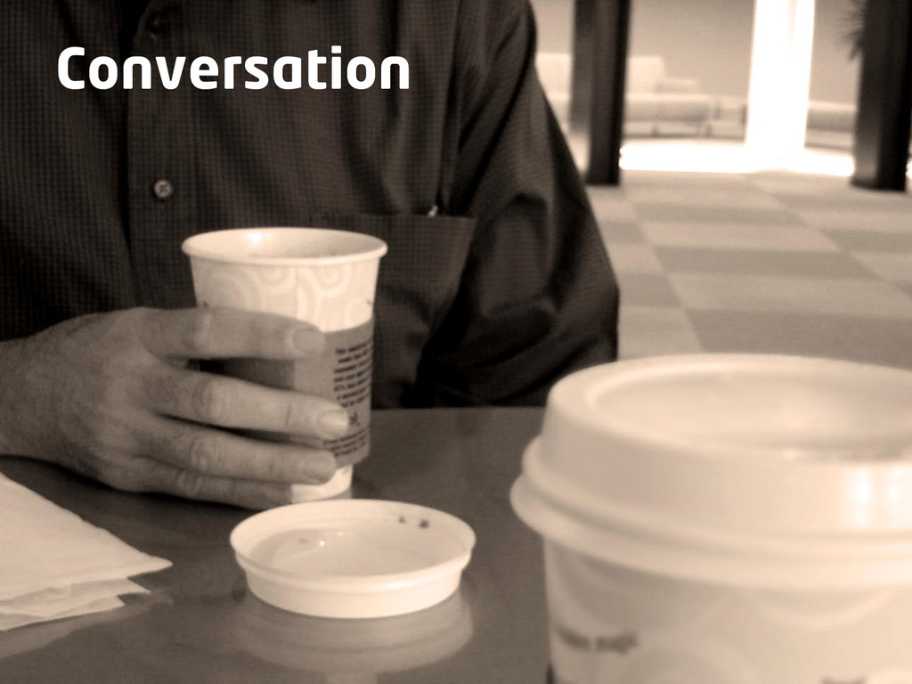 Make it work for you Conversation