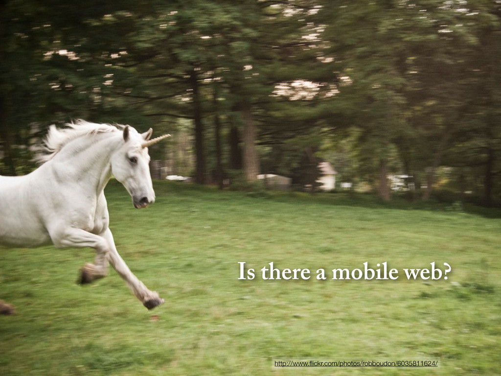 Is there a mobile web? http://www.flickr.com/pho...