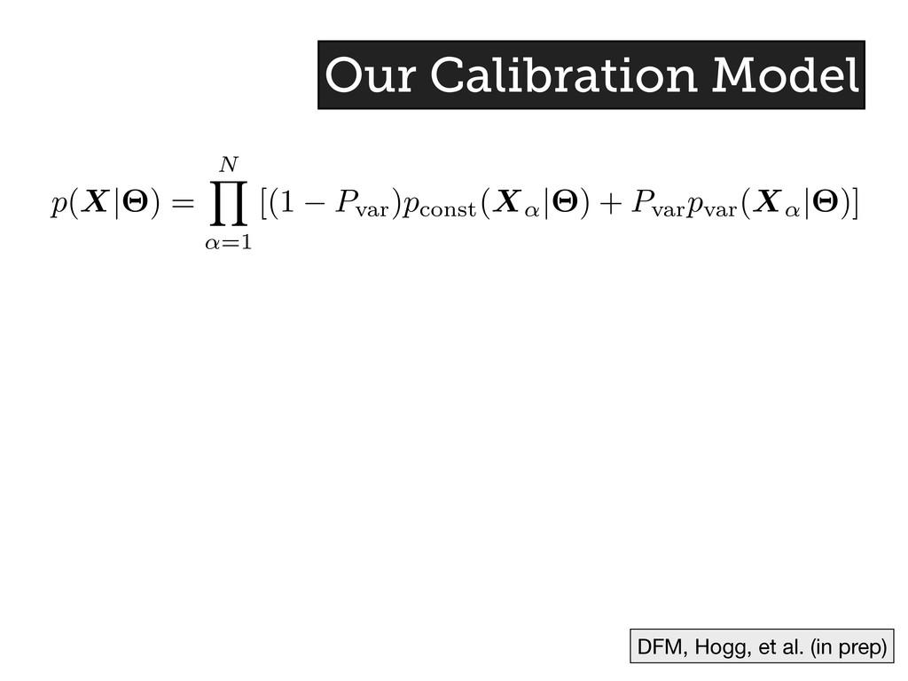p(X|⇥) = N Y ↵ =1 [(1 P var )p const (X↵ |⇥) + ...