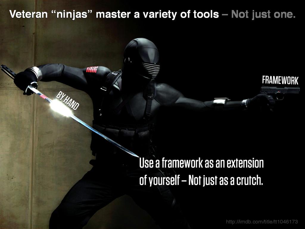 """Veteran """"ninjas"""" master a variety of tools – No..."""