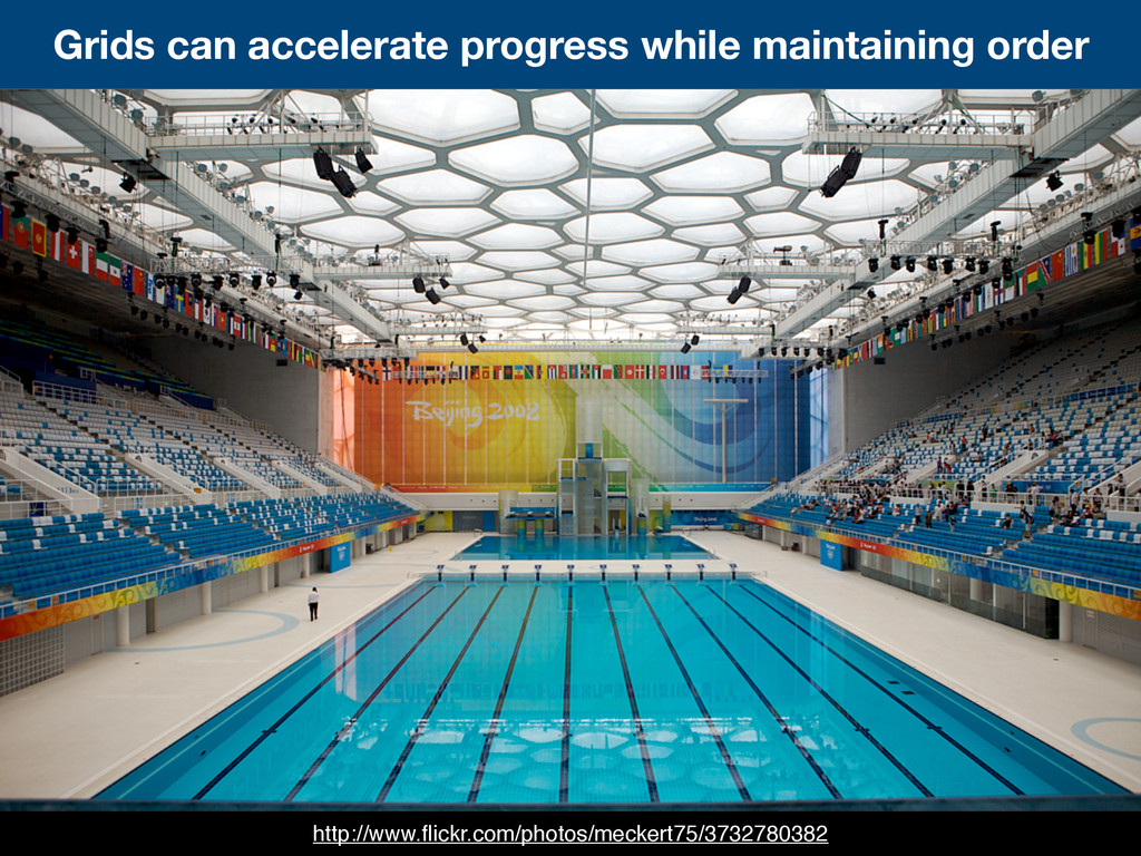 Grids can accelerate progress while maintaining...