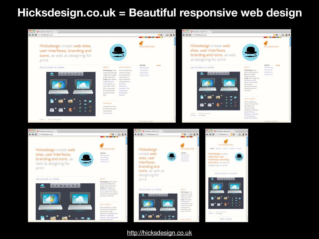 http://hicksdesign.co.uk Hicksdesign.co.uk = Be...