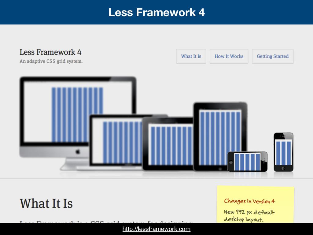 Less Framework 4 http://lessframework.com