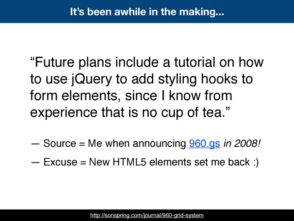 """""""Future plans include a tutorial on how to use ..."""