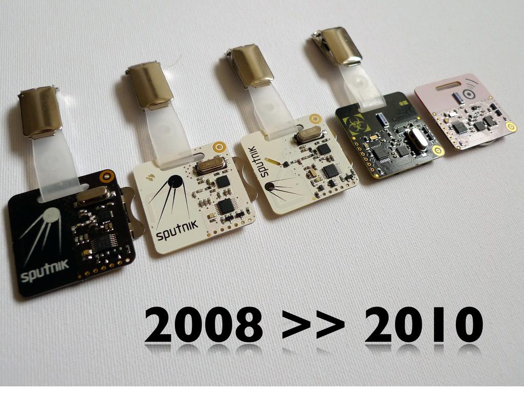 2008 >> 2010